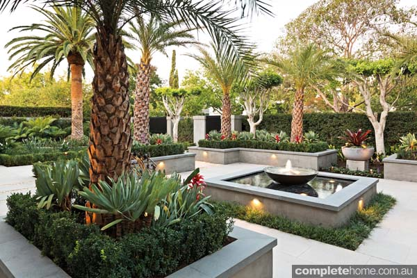 Tropical home garden design for Tropical garden design
