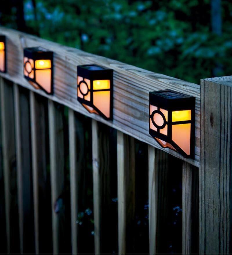 with this kind of lighting the garden there is no cost to the garden