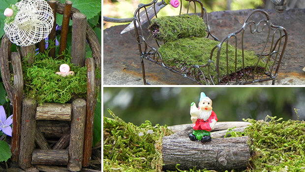 Decoration and Furniture for Fairy Garden