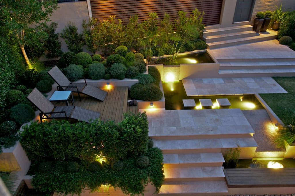 Lighting in Garden