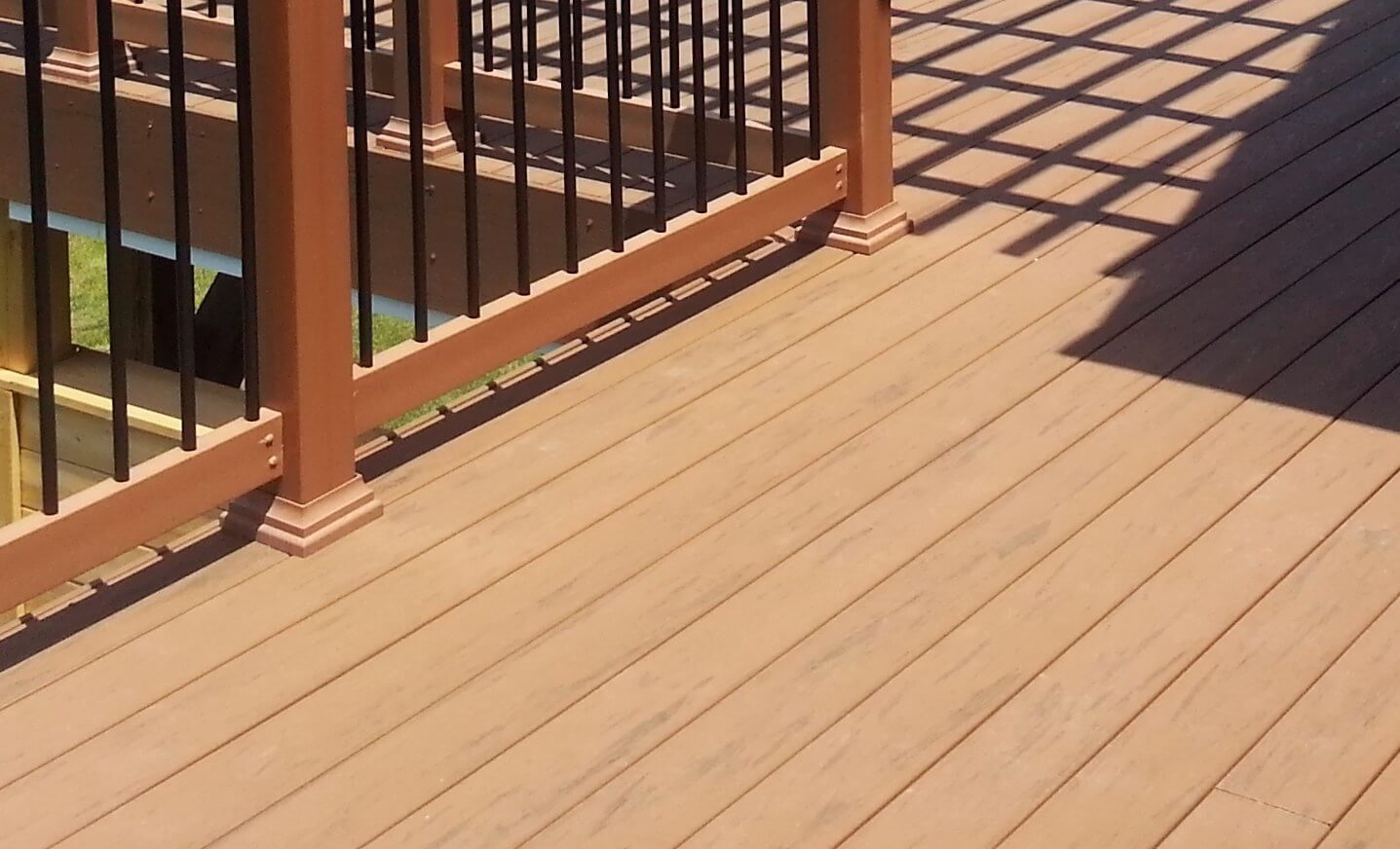 Amazing composite decking ideas for your home gardening for What is capped composite decking