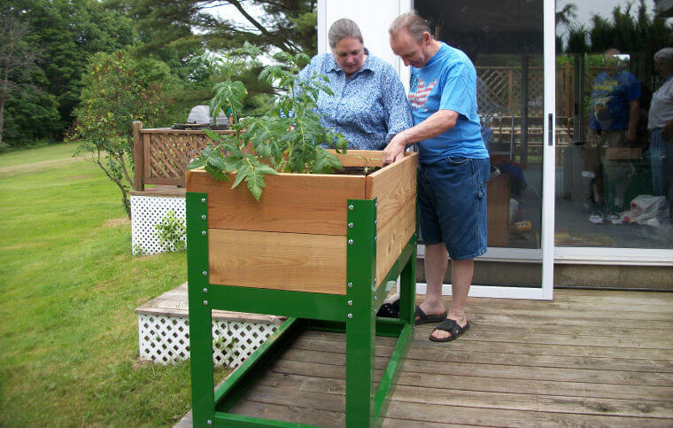 What are raised garden beds and what are they for House plans for disabled people