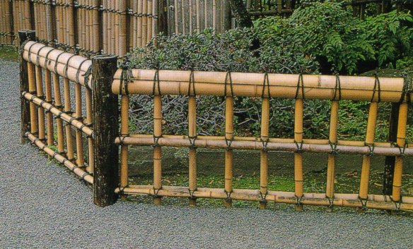 Perfect Bamboo Garden Fence Ideas