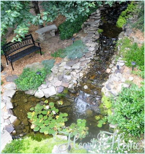 Diy garden ponds and waterfalls gardening flowers 101 for Diy small pond with waterfall