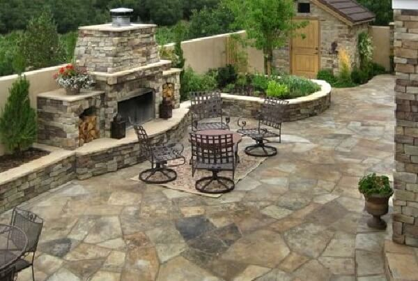 Flagstone Patio Elegant