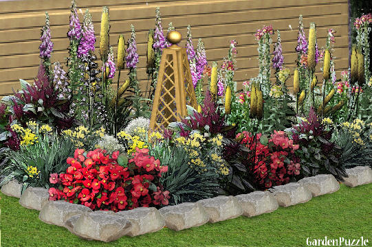 Contemporary Flower Garden Designs Rules Throughout Decorating