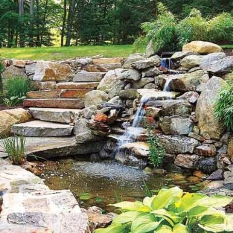 Gardening flowers 101 for Garden pond design ideas you can try