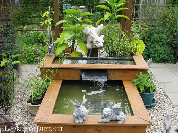 Garden pond fountain design gardening flowers 101 for Fish pond fountain design