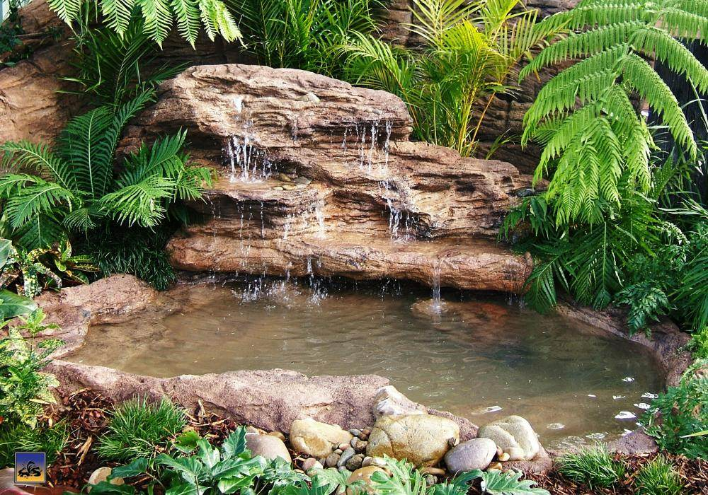Garden pond waterfall gardening flowers 101 gardening for Garden pond 101