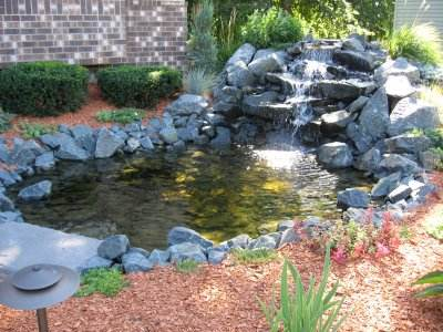 Garden Pond Waterfall Designs Garden Ftempo