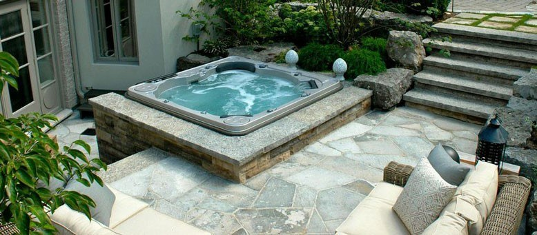 Built In Hot Tubs Vs Portable Hot Tub How To Choose What