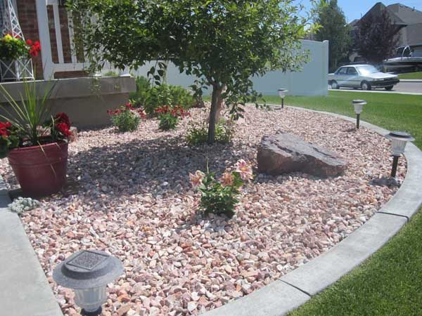 Landscaping With Small Rocks Gardening Flowers 101