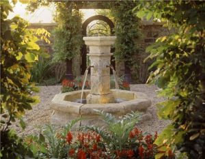 outdoor water fountains for yard landscape