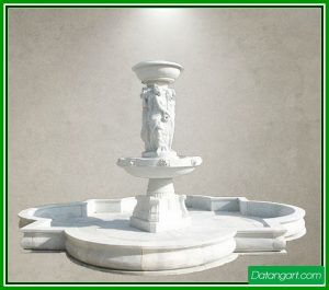 outdoor water fountain toppers