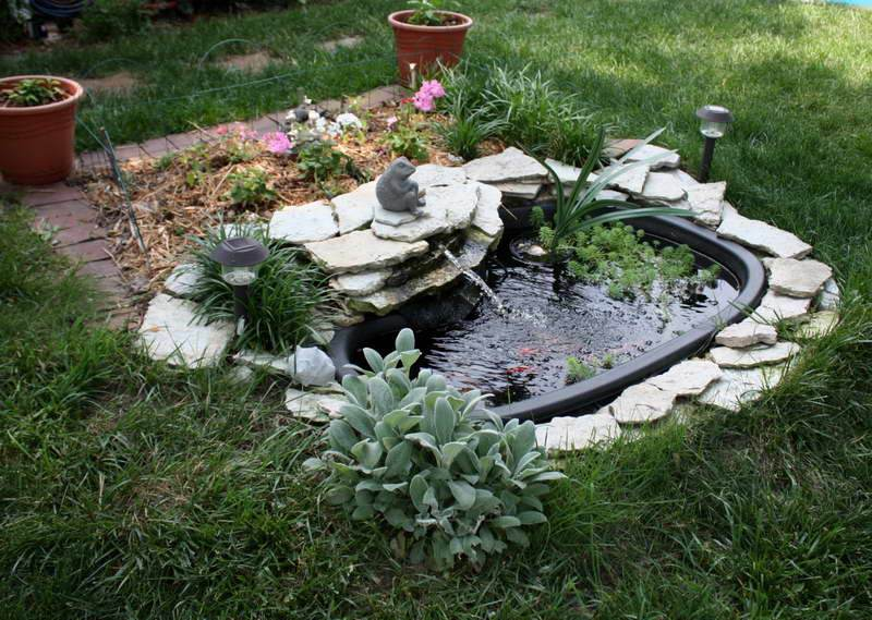 Preformed garden ponds pictures 365 for Garden pond designs pictures