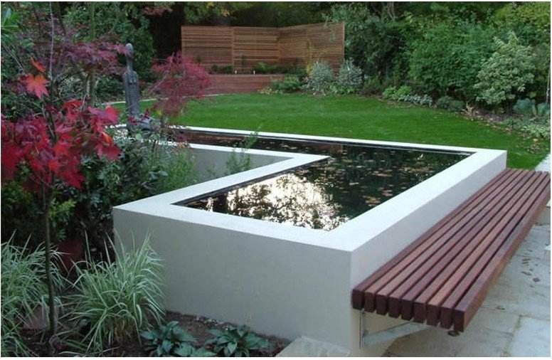 Raised garden ponds designs gardening flowers 101 for Garden pond 101