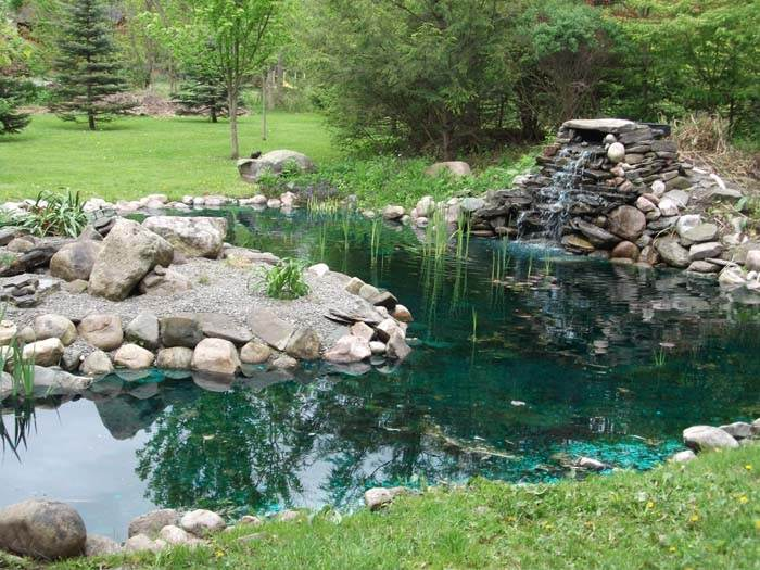 Rock garden pond pictures gardening flowers 101 for Garden pond 101