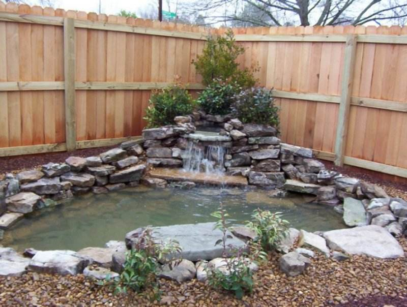 Small Pond Ideas With Waterfall 457