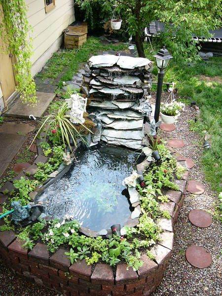 Small Pond Ideas With Waterfall Gardening Flowers 101 Gardening Flowers 101