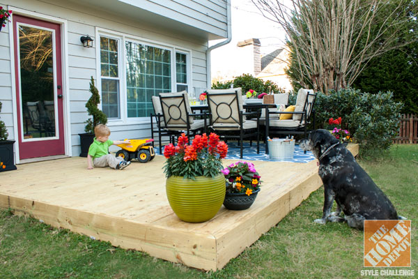 small patio ideas for dogs