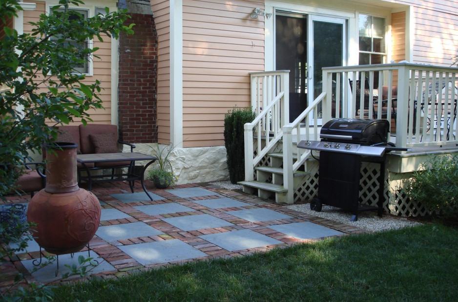 small patio ideas with pavers - Small Patio Design Ideas