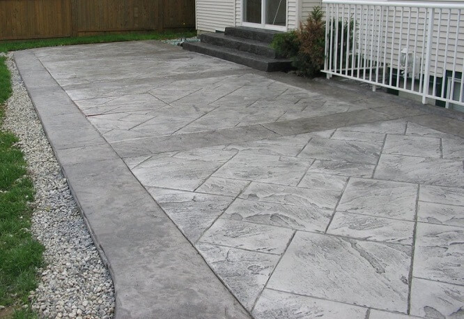 Stamped Concrete Patio Ideas Gardening Flowers 101