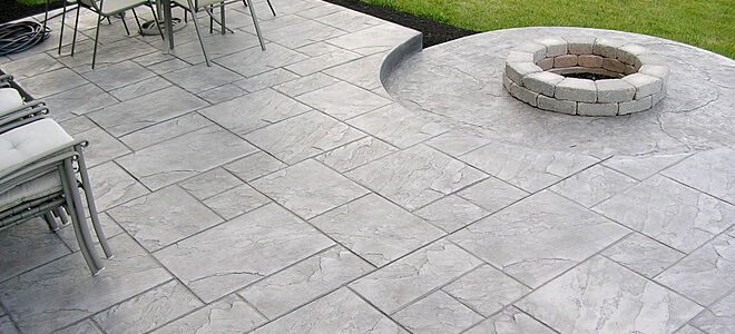 Delightful Stamped Concrete Patio Ideas