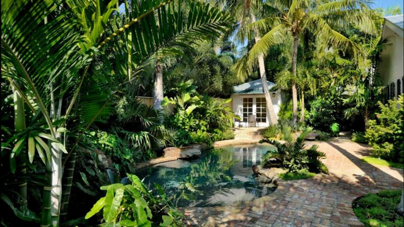Tropical garden design gardening flowers 101 gardening for Tropical home garden design